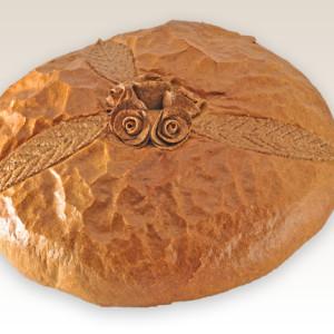 chleb okolicznosciowy z rozami m