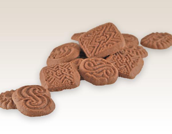 ciasteczka o smaku czekoladowym m