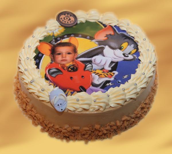 tort dziecięcy ze zdjeciem